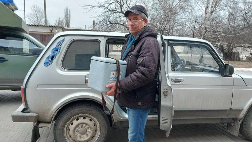 Мобільні бригади з вакцинації у Донецькій області почали отримувати вакцину від COVID-19